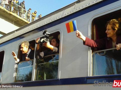 trenul regal slatina