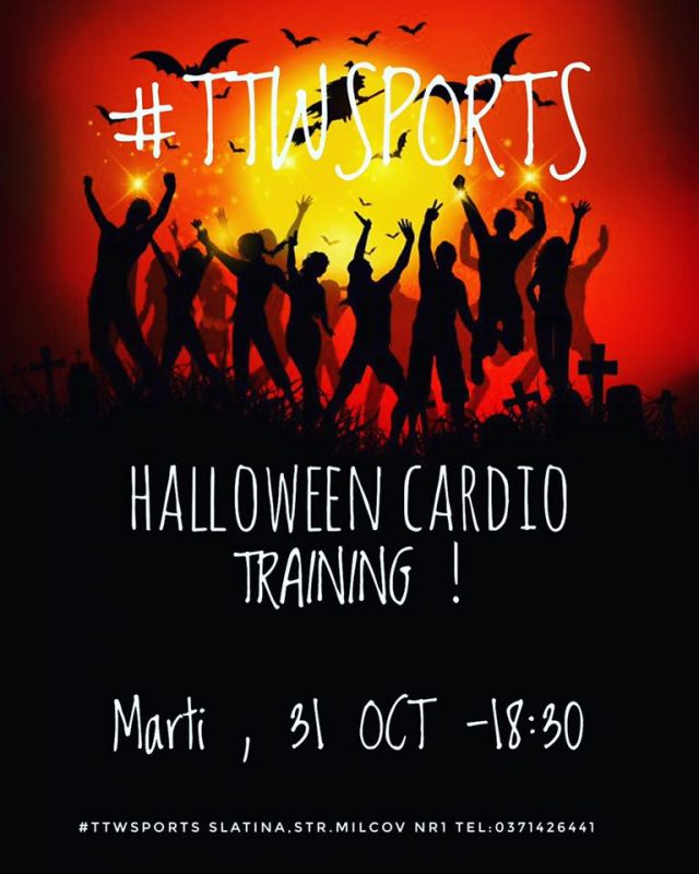 ttw sports cardio halloween