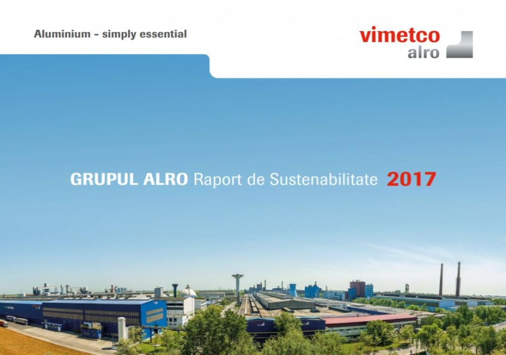 raport sustenabilitate alro
