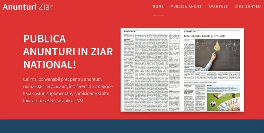 anunturi ziar