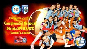 """Campionatul Național de Volei, Speranțe Feminin @ Sala de Sport Colegiul Național """"Ion Minulescu"""""""