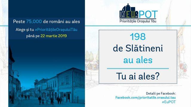 Prioritatile Orasului Tau Slatina