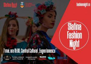 "Slatina Fashion Night 2019 @ Centrul Cultural ""Eugen Ionescu"""
