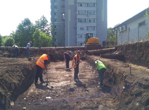 cercetari arheologice slatina