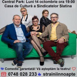 Teatru: Central Park (comedie) Slatina @ Casa de Cultură a Sindicatelor