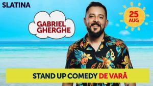 Stand Up Comedy de Vară cu Gabriel Gherghe @ Baroc Cafe Pub