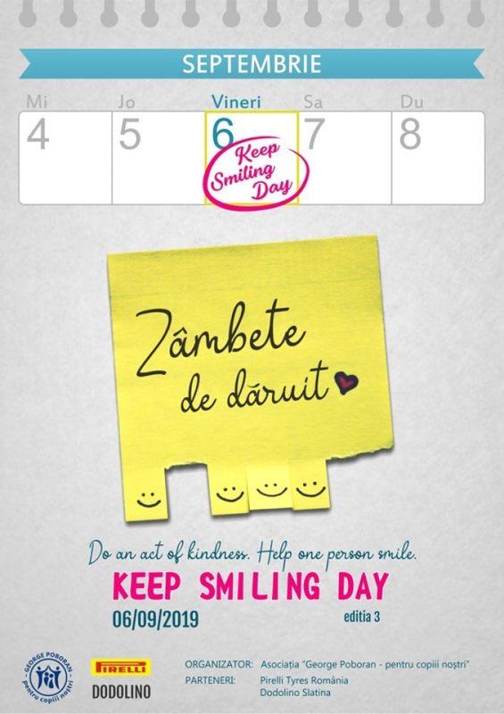 keep smiling day slatina 2019
