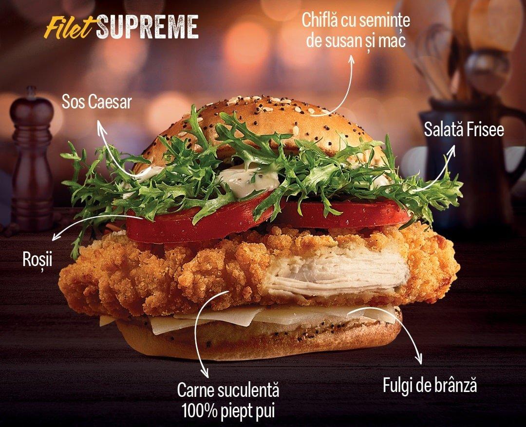 Filet Supreme McDonalds